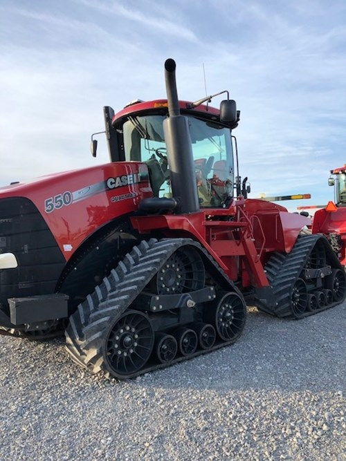 Tractor For Sale:  2012 Case IH STEIGER 550QT , 550 HP