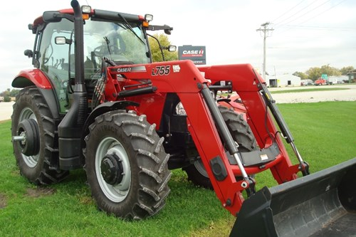 Tractor For Sale:  2014 Case IH 125 MAXXUM , 125 HP