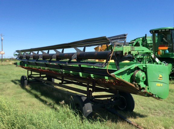 2000 John Deere 930R Header-Auger/Rigid For Sale