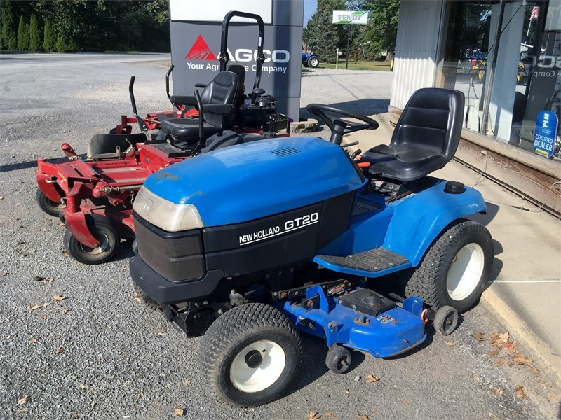 New Holland GT20 Riding Mower For Sale