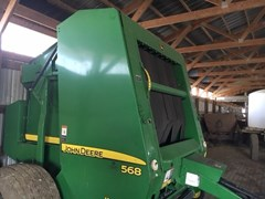 Baler-Round For Sale:  2008 John Deere 568