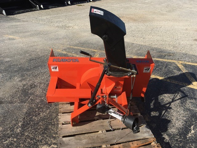 2011 Kubota B2789 Snow Blower For Sale