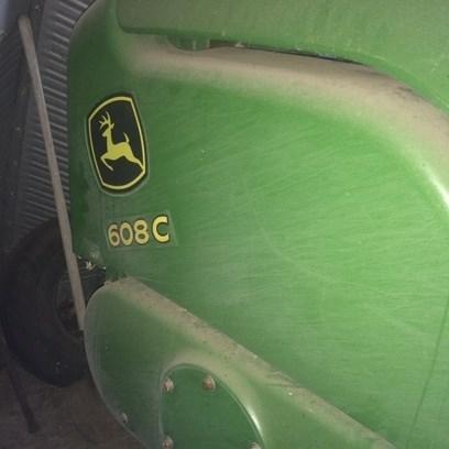 2012 John Deere 608C Stalkmaster Header-Corn For Sale