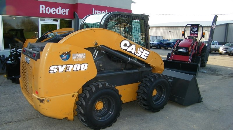 2015 Case SV300 Skid Steer For Sale