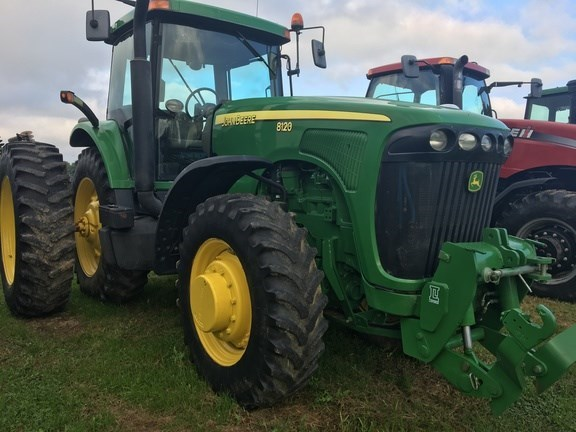 2002 John Deere 8120 Tractor For Sale