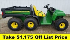 Utility Vehicle For Sale 2017 John Deere TH