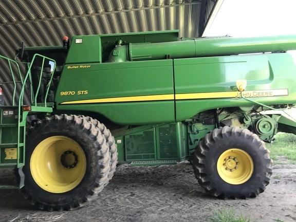 2010 John Deere 9870 STS Combine For Sale