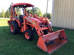 Loader Backhoe For Sale:  2008 Kubota M59TLB , 59 HP