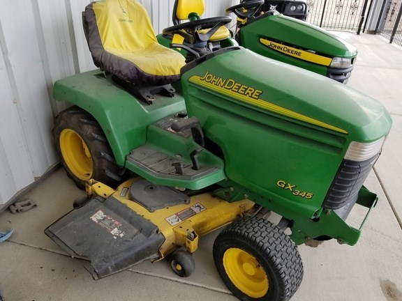 2002 John Deere GX345 Riding Mower For Sale