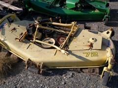 """Finishing Mower For Sale:  2001 John Deere 72"""""""