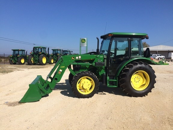 2014 John Deere 5075E Tractor For Sale