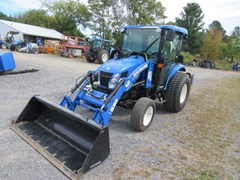 Tractor For Sale:  2016 New Holland Boomer46D , 46 HP