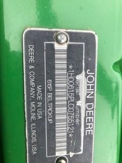 Header-Pick Up For Sale:  2013 John Deere 615P