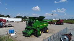 Combine For Sale:  2012 John Deere S680