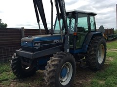 Tractor For Sale 1992 Ford 7840SL , 90 HP