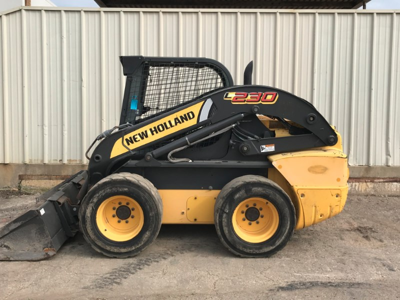 2013 New Holland L230 Skid Steer For Sale