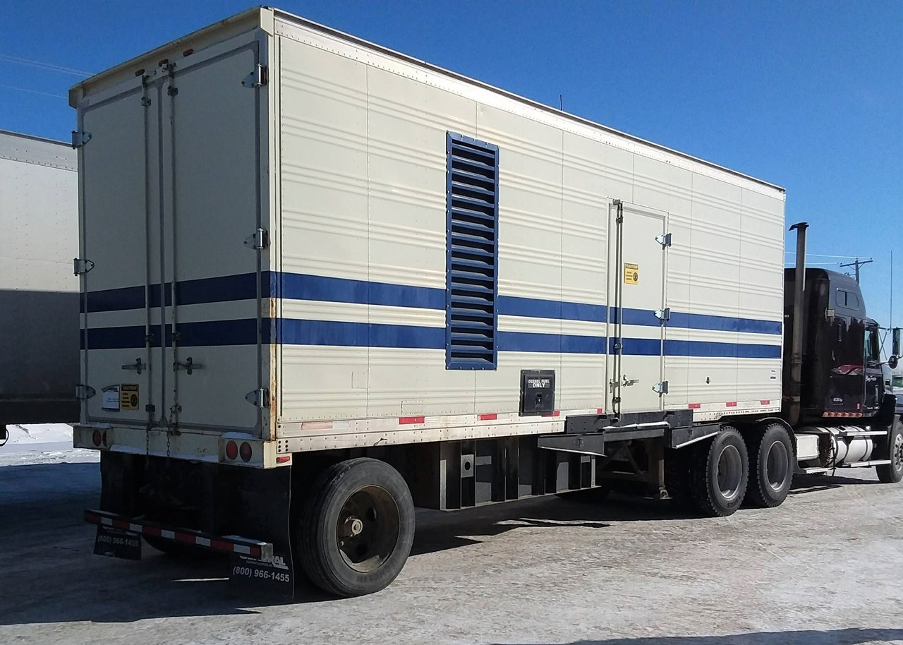 2014 VOLVO PENTA 340 KW Generator & Power Unit For Sale
