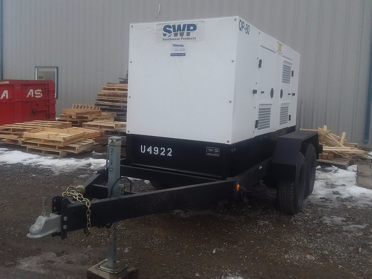 2017 Other 60 KW Generator & Power Unit For Sale