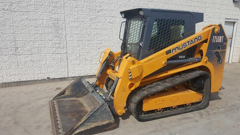 2011 Mustang 1750RT Skid Steer-Track For Sale