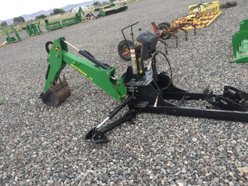 2007 John Deere 48 3 Point Backhoe Attachment For Sale