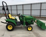 Tractor For Sale: 2011 John Deere 1023E, 23 HP