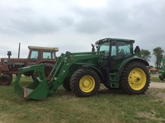 Tractor For Sale 2013 John Deere 6140R , 140 HP