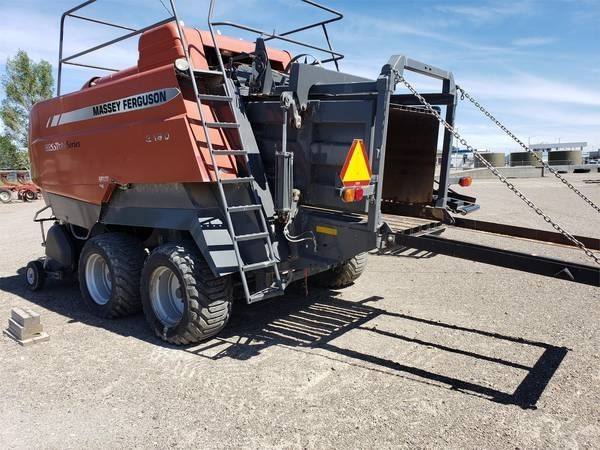 2009 Massey Ferguson 2190 Baler-Square For Sale