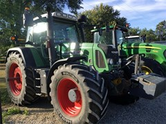 Tractor For Sale 2008 Fendt 818 VARIO TMS , 180 HP