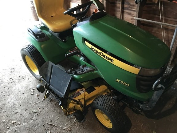 2012 John Deere X534 Riding Mower For Sale