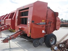 Baler-Round For Sale 2007 Agco 5556