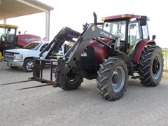 Tractor For Sale 2004 Case IH MXM130 , 116 HP