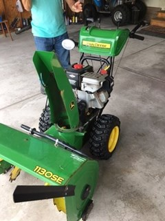 Snow Blower For Sale 2008 John Deere 1130