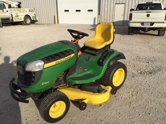2012 John Deere D160 Riding Mower For Sale