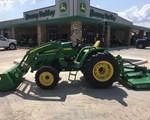 Tractor For Sale: 2016 John Deere 4105, 40 HP