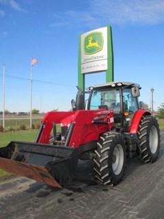 Tractor For Sale:  2014 Massey Ferguson 6616 Deluxe , 135 HP
