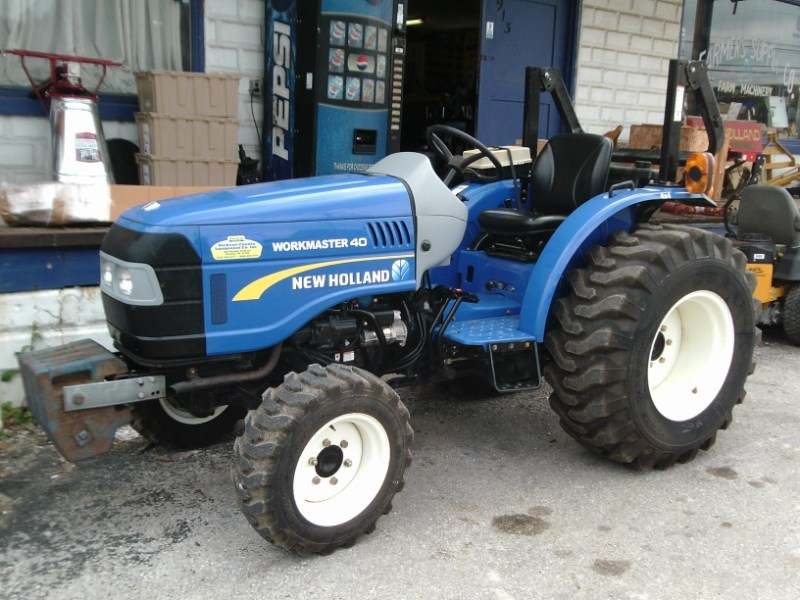 2013 New Holland WORKMASTER 40 Tractor - Compact For Sale