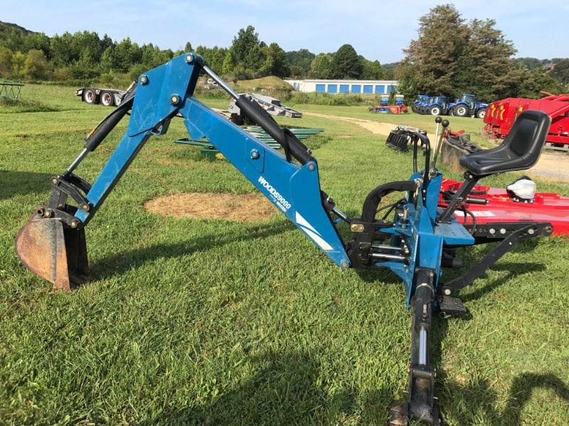 1999 Woods BH9000 3 Point Backhoe Attachment For Sale