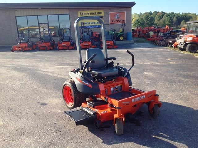 2013 Kubota ZG123S-48 Riding Mower For Sale