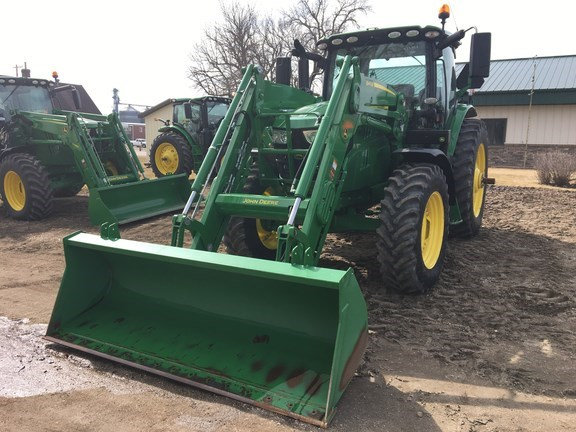 2016 John Deere 6155R Tractor For Sale