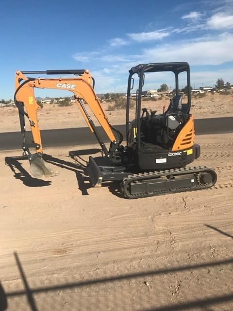 Case CX26C Excavator-Track