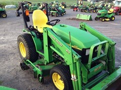 Tractor For Sale 2002 John Deere 4110 , 20 HP