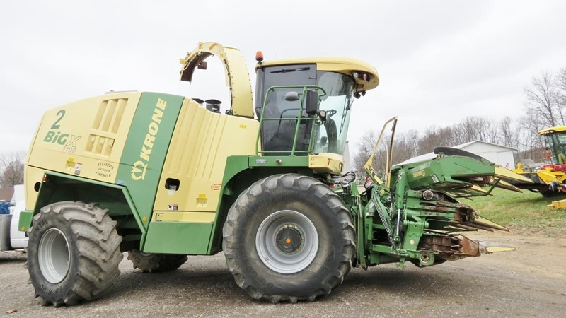 2013 Krone BIG X 1100 Forage Harvester-Self Propelled For Sale