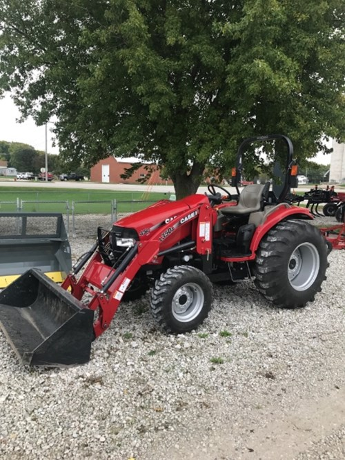 Tractor For Sale:  2015 Case IH 45C CVT , 45 HP