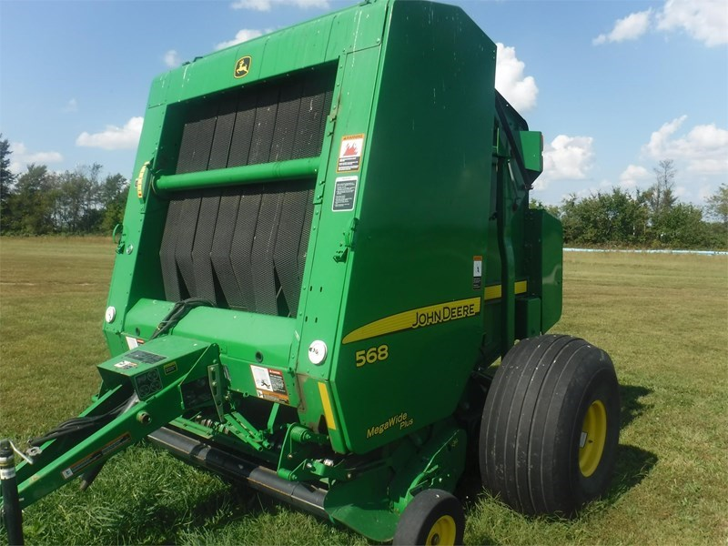 2008 John Deere 568 Baler-Round For Sale