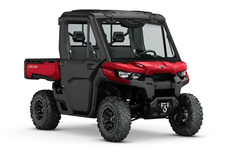 2018 Can-Am 2018 DEFENDER HD8 W/CAB RED SKU # 8UJB Utility Vehicle For Sale