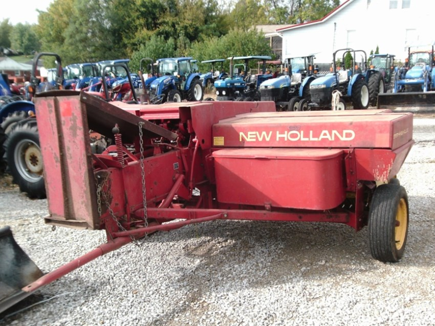 1982 New Holland 310 Baler-Square For Sale » Somerset Farm