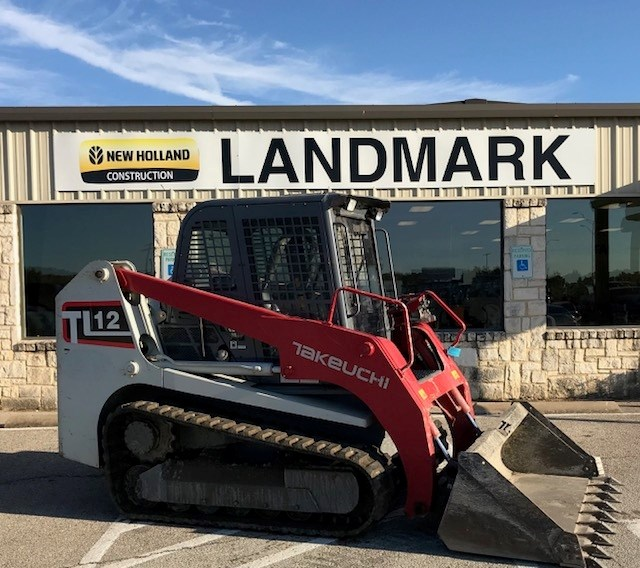 2016 Takeuchi TL12HF Skid Steer-Track For Sale