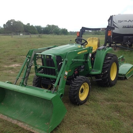 2015 John Deere 3038E Tractor For Sale