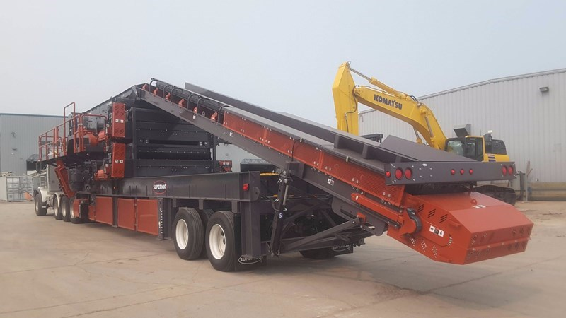 2017 Superior 6203-32OF Screening Plant For Sale
