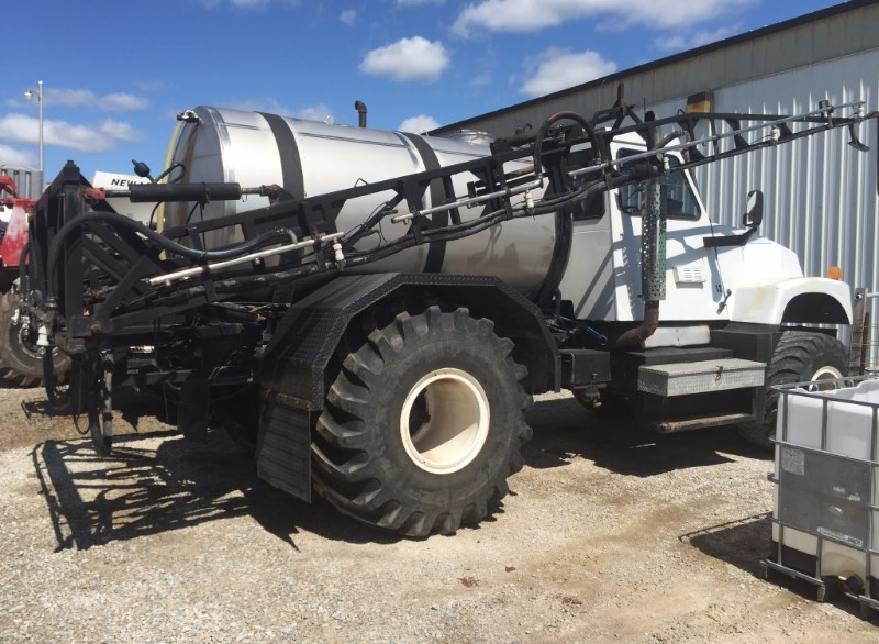 1994 Silverwheels 2554 Floater/High Clearance Spreader For Sale